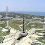 Enorme kraan domineert Kennedy Space Center