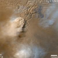Storfstorm op Mars