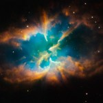 Hubble legt afwijkende planetaire nevel vast