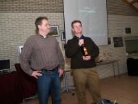 Kees Kwakernaak (r.) en Peter Boot, de voorzitter