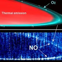 Venus straalt infrarood