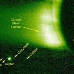 STEREO ziet Jupiter achter de Zon verdwijnen
