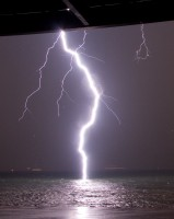 bliksems bij Vlissingen
