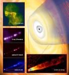 Uitbarsting bij zwart gat in M87 waargenomen