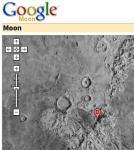 Google komt met maanuitbreiding Google Earth