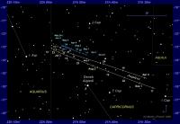 Zoekkaartje van Jupiter en Neptunus