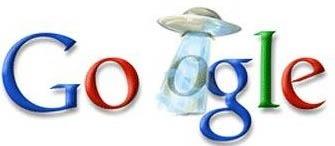 google's UFO logo