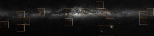 Het Panorama van de Melkweg