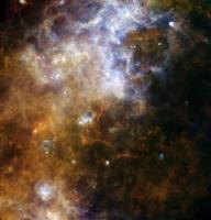 Een stervormingsgebied in de Melkweg