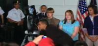 Obama tuurt naar Epsilon lyrae