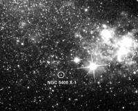 Hier bevindt zich NGC 5408 X-1