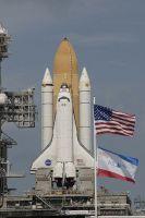 Atlantis op het lanceerplatform