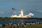 Atlantis onderweg naar ISS voor missie 129