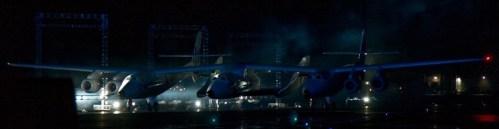 VSS Enterprise rolt uit de hangar