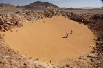 Kleine krater in Egypte ontdekt met Google Earth