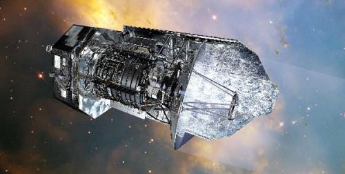 De Europese infrarood-satelliet Herschel