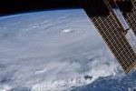 (toen nog) orkaan Earl vanuit het ISS