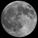 Dubbelportret van maan-ISS en Itokawa-Hayabusa