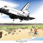 Red en Rover brengen eerbetoon aan Space Shuttles