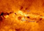 Herschel vindt koele, gedraaide gasring rond Melkwegkern