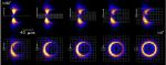 Op jacht naar de schaduw van het zwarte gat in M87