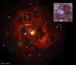 Röntgenstraling waargenomen van supernovarestant uit 1957 in M83