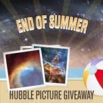 Allemaal meedoen met de Hubble 'Einde van de zomer-fotowedstrijd'