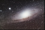 Messier 31…ofwel,  wat meneer Baumgartner kan, kan ik ook……