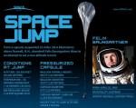 Infografiek: de record vrije valsprong van Felix Baumgartner