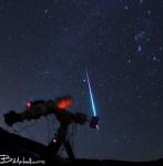 Meteoren van de Geminiden waren afgelopen nacht zeer actief