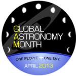 April is Global Astronomy Month (GAM 2013)