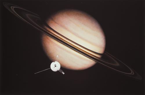Pioneer 11 Saturnus