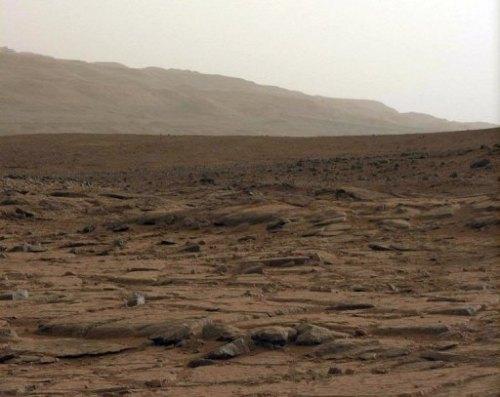 Curiosity ziet Mars