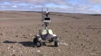 De K10 planetaire rover, die door ISS-astronauten is bestuurd.
