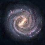 """""""Foto"""" gemaakt van de Melkweg van buitenaf!"""