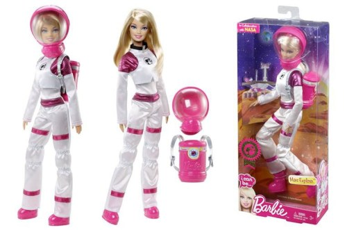 astronaut Barbie (credit: Mattel)