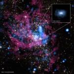 Chandra ziet hoe superzwaar zwart gat Melkweg 'voedsel weigert'