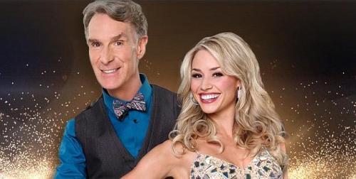 Bill Nye and Tyne Stecklein