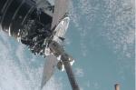 Orbital's Cygnus ruimtevaartuig succesvol vastgemaakt aan het ISS