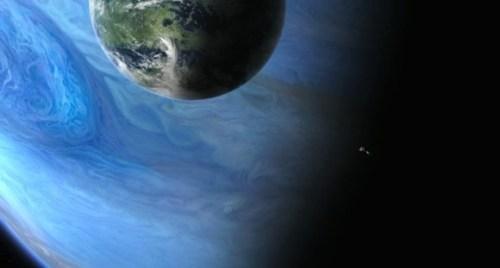 Voorstelling van de maan Pandora uit de film Avatar (credit; Avatar, 20th Century Fox)
