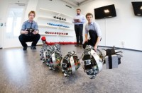 Een prototype robotslang