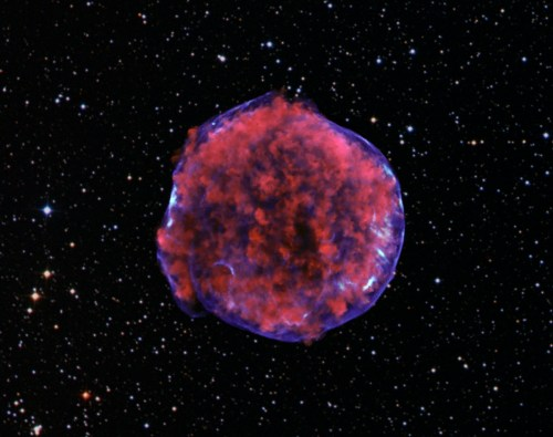 A supernova remnant in the Milky Way about 13,000 light years   from Earth.