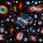 Honderd planetaire nevels bij elkaar, herken je ze?