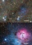 Vista kijkt dwars door de Melkweg heen
