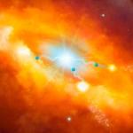 Zwart gat in centrum van de Melkweg lijkt petadeeltjesversneller