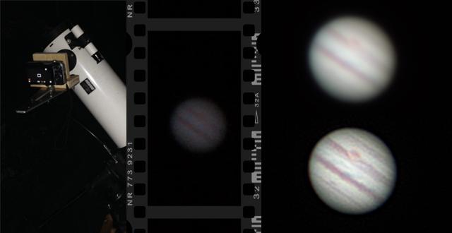 Jupiter filmen en bewerken