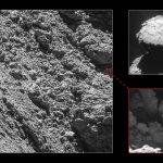 Komeetlander Philae direct gespot op 67P door Rosetta!
