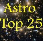 De uitslag van de Astro-Top 25 2017… met een nieuwe nummer één!