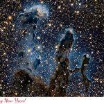 Stuur een 'Space-tacular' kerstkaart van de ESA