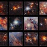 VISTA-survey geeft detailrijkste beeld van de moleculaire wolk Orion A in het nabij-infrarood